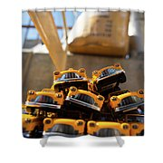 Nyc Taxi Shower Curtain
