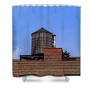 Nyc Water Tank Shower Curtain