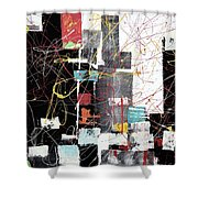 Nyc102 Shower Curtain