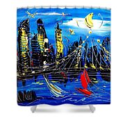 Nycity Shower Curtain