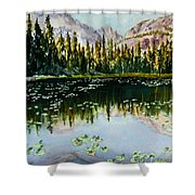 Nymph Lake Shower Curtain