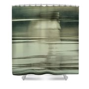 Nymph Walking On Water Shower Curtain