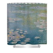 Nympheas At Giverny Shower Curtain