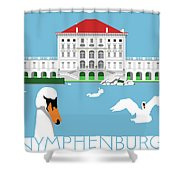 Nymphenburg Palace Shower Curtain