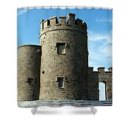 O Brien's Tower Cliffs Of Moher Ireland Shower Curtain