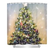 O Christmas Tree Shower Curtain