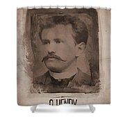 O. Henry Shower Curtain