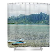 Oahu, Kaneohe Bay Shower Curtain