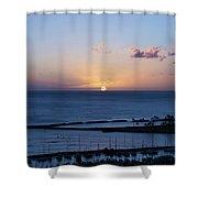 Oahu Sunset Shower Curtain