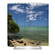 Oahu's East Coast 5 Shower Curtain