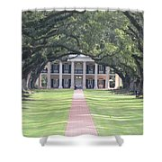Oak Alley Plantation Shower Curtain