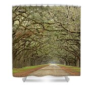 Oak Avenue Shower Curtain