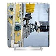 Oak Bluffs Sailor Shower Curtain