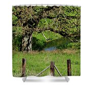 Oak Creek Guards Shower Curtain
