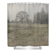 Oak Field Shower Curtain