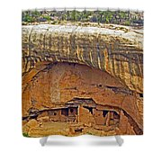 Oak Tree House - Mesa Verde Shower Curtain