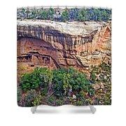 Oak Tree House - Mesa Verde National Park Shower Curtain