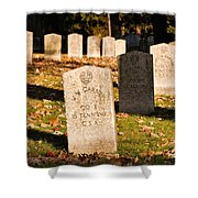 Oakland Cemetery Atlanta Shower Curtain