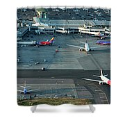 Oakland International Airport Shower Curtain