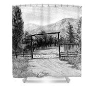 Oakley Ranch Entrance Shower Curtain