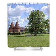 Oast House In Kent - England Shower Curtain