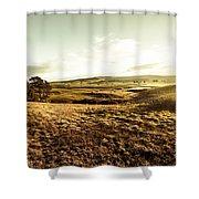 Oatlands Rolling Hills Shower Curtain