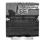 Oatman Arizona Shower Curtain