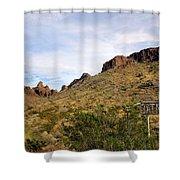 Oatman Shower Curtain