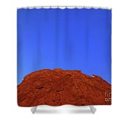 Oatmeal Cookie Shower Curtain by Inessa Burlak