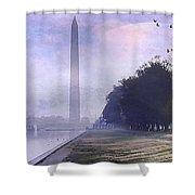 Obelisk  Shower Curtain