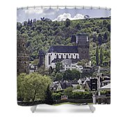 Oberwesel Old And New Shower Curtain