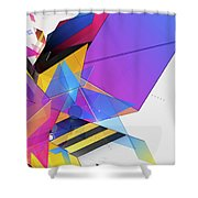 Obfusication Shower Curtain