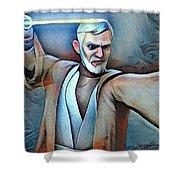 Obi Wan Kenobi Shower Curtain