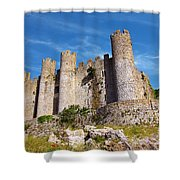 Obidos Castle Shower Curtain