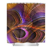 Object Lesson Shower Curtain