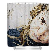 Obliteration Shower Curtain