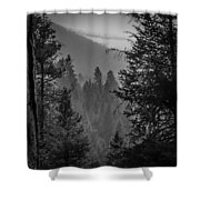 Obscure  Aspects  Shower Curtain