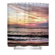 Obx Sunrise Shower Curtain