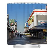 Oc Boardwalk Shower Curtain by Skip Willits