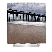 Ocean City Pier 3 Shower Curtain