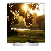 Ocala Sunset Shower Curtain