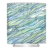 Ocean 1 Shower Curtain