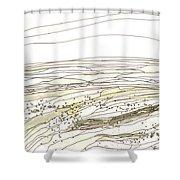 Ocean 15 Shower Curtain