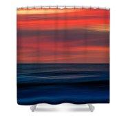 Ocean-803 Shower Curtain