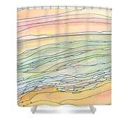Ocean 9 Shower Curtain