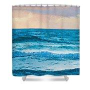 Ocean Art 1 Shower Curtain