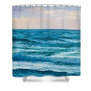 Ocean Art 2 Shower Curtain