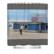 Ocean Beach In September Shower Curtain