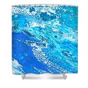 Ocean Blue -tac Shower Curtain