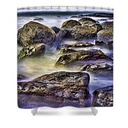 Ocean Break Shower Curtain
